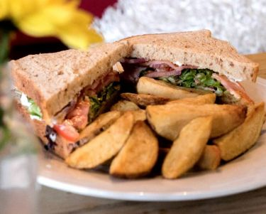 BLT and chips