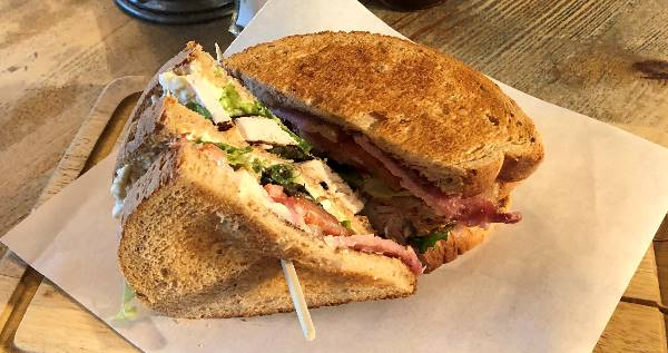 Chicken & Bacon Club Sandwich
